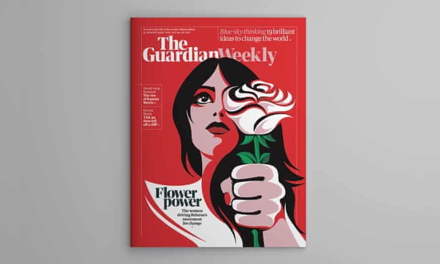 Guardian Weekly global and Australian editions cover, 21 August 2020