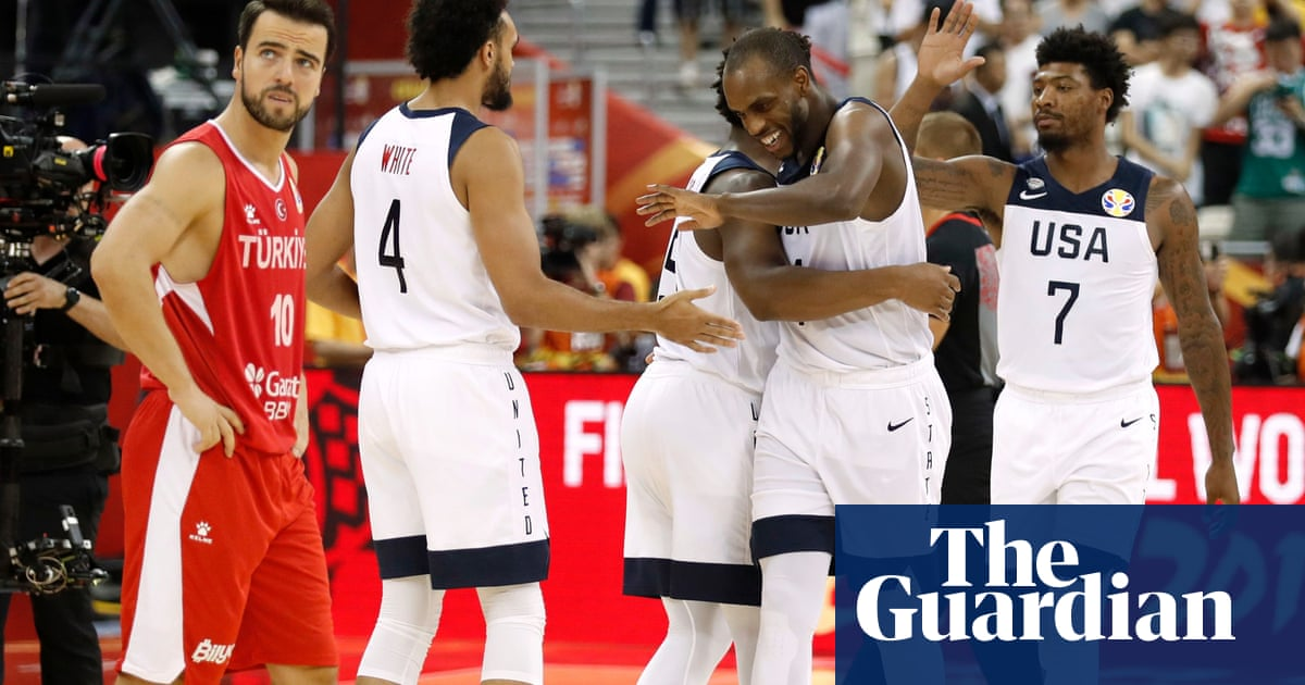 Tatum injured as USA escape Turkey at World Cup in closest game since 2006