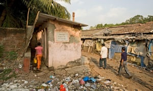 In Mumbai slums, 78% of community toilets lack water supply, 58% have no electricity and many don't have proper doors.