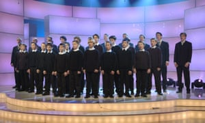 The Berlin State and Cathedral Choir perform on the German TV Show Klassisch!