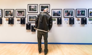 People of the Streets photography exhibition at Manchester Arndale Centre.