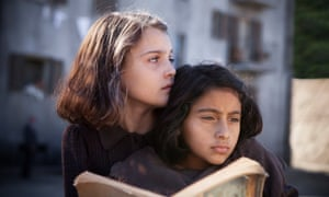 Fragility and fearlessness … Elisa del Genio as Elena and Ludovica Nasti as Lila in the TV adaptation of My Brilliant Friend.