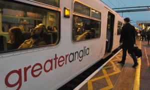Greater Anglia said it planned to run a normal service although there was disruption at other train companies.