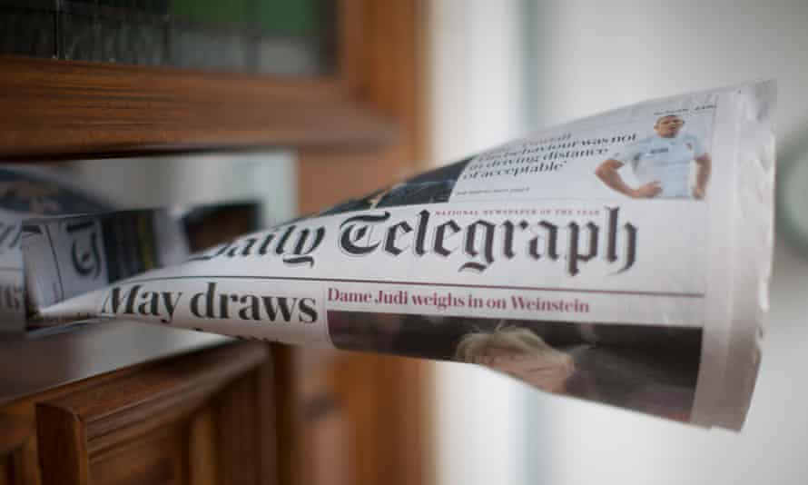 Telegraph newspaper
