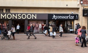 Monsoon and Accessorize stores in Taunton