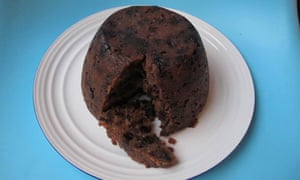 Nigella Lawson's Christmas pudding: the fruit is soaked in sweet, dark, sticky sherry.