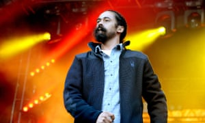 Damian Marley on stage at the Parklife festival, Heaton Park, Manchester on 11 June 2017.