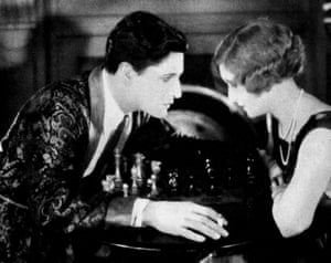 Ivor Novello and June Tripp in The Lodger.