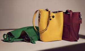 The Coach duffle in various colours.