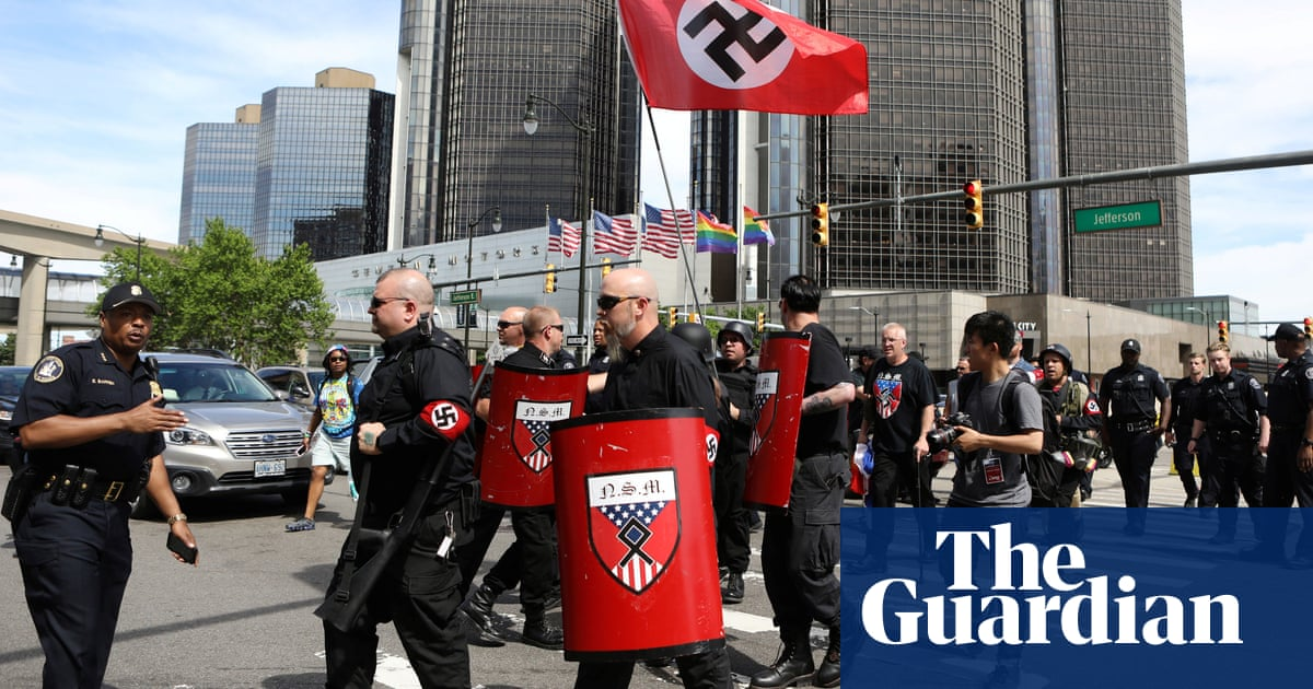 Detroit police chief faces backlash over neo-Nazi protest at Pride event