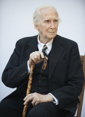 Literary critic Karl Miller at the Edinburgh international book festival in 2012.