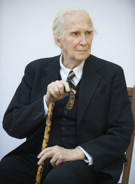 Literary critic Karl Miller at the Edinburgh international book festival in 2012.