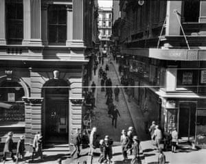 Rowe Street, 1929