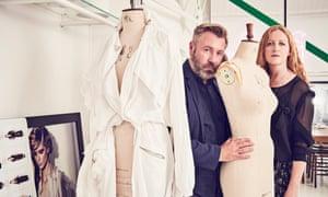 London calling: Justin Thornton and Thea Bregazzi, whose label Preen is celebrating its 20th anniversary