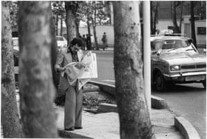 Streetscape in Tehran