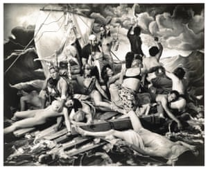 Joel Peter Witkin's The Raft of George W Bush.