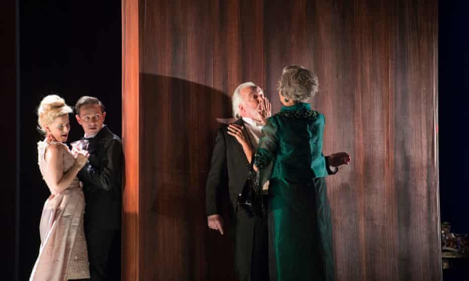 Sally Matthews, Iestyn Davies, John Tomlinson and Anne Sofie von Otter in The Exterminating Angel by Thomas Adès.