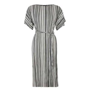 Pleated midi dress, £36, topshop.com.