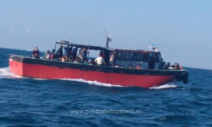 Illegal migrants from Middle East arrested by Romanian border police in Black Sea on 3 September
