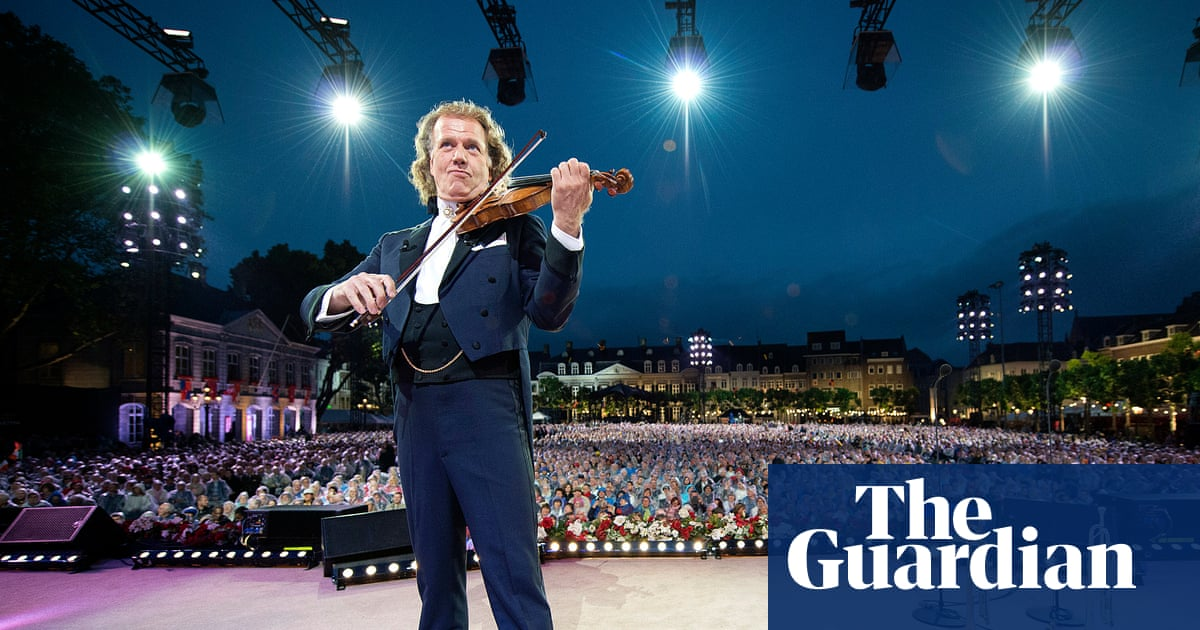 André Rieu: 'I spent £34m on fountains, ice rinks and gold