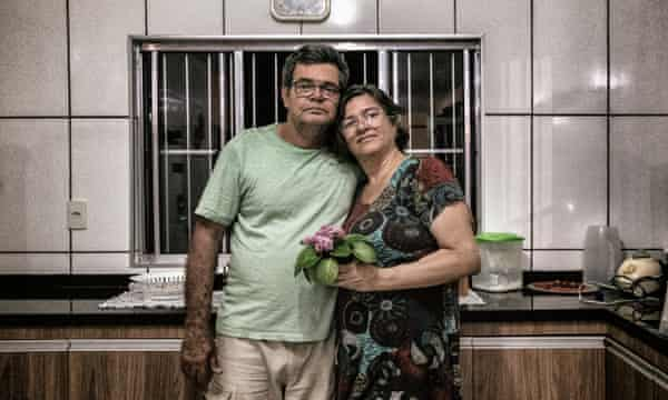 Luis Castro and his wife, Ivaneth Fatima Amorim.