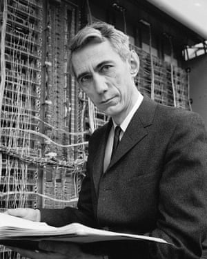 Mathematician Claude E. Shannon, inventor of information theory (Photo by Alfred Eisenstaedt/Time & Life Pictures/Getty Images)