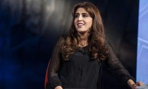 Francesca Chaouqui on Italian television