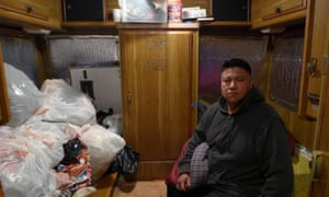 The Chavez family lost their home after Omar was injured, which prevented him from working.