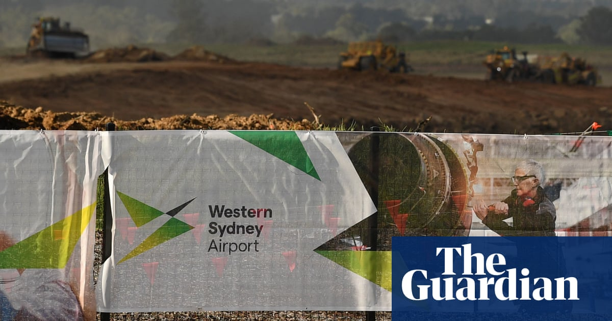 Government paid 10 times too much for land at Western Sydney airport to be used after 2050 – The Guardian