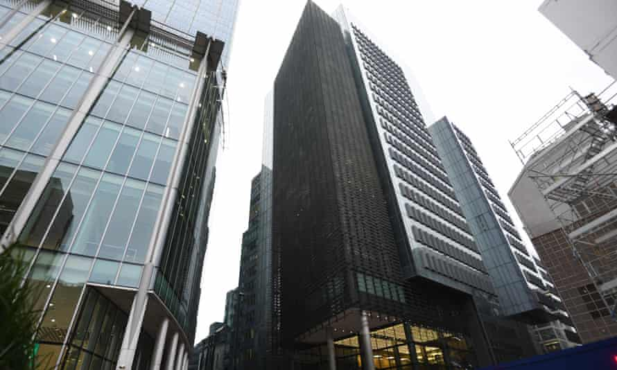 IHS Markit's headquarters in London.