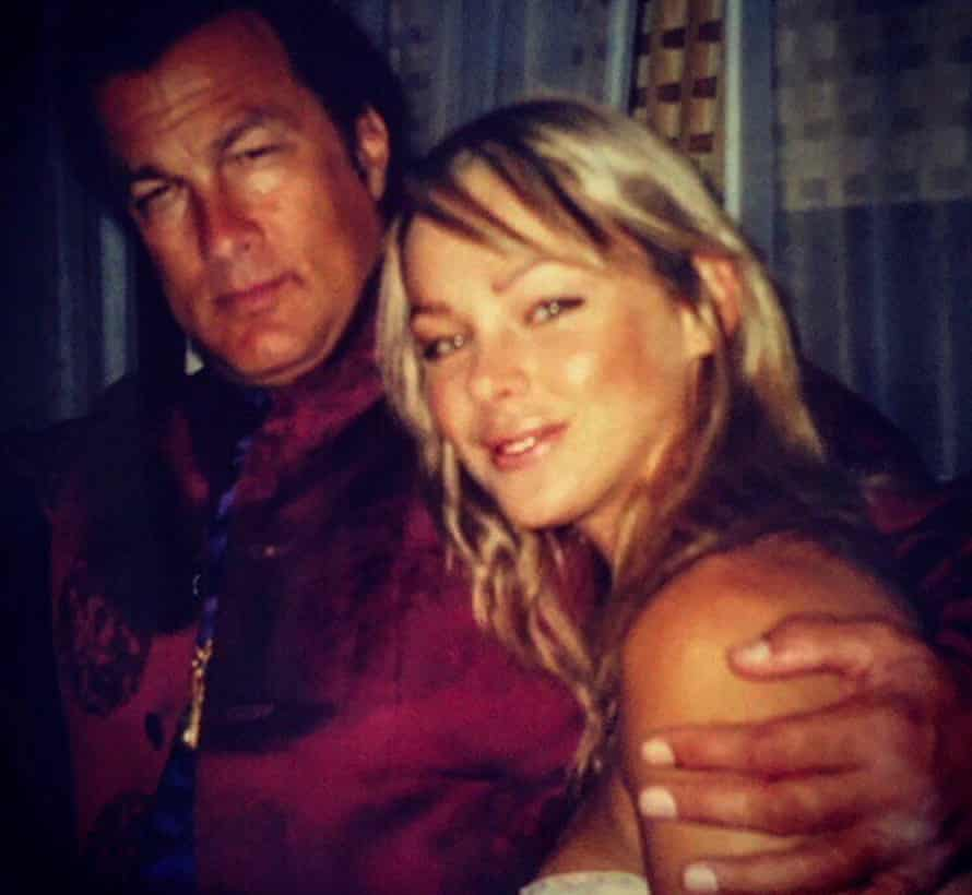 Cassie Lane with Steven Seagal
