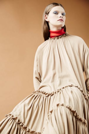 Dress, from a selection, loewe.com. Rollneck, £65, by hobbs.co.uk