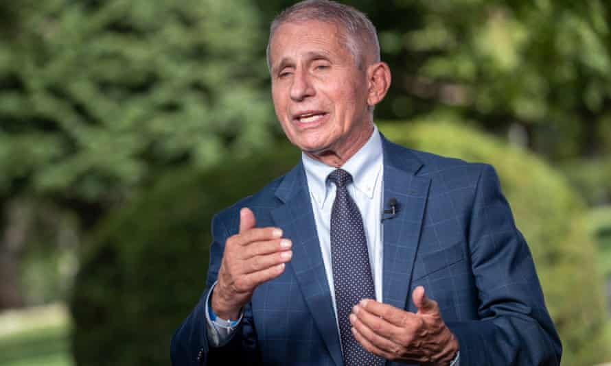 Anthony Fauci, head of the National Institute of Allergy and Infectious Diseases and chief medical adviser to President Joe Biden.