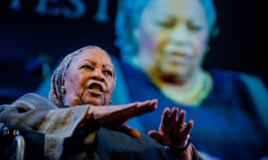 Toni Morrison at Hay festival, 2014.