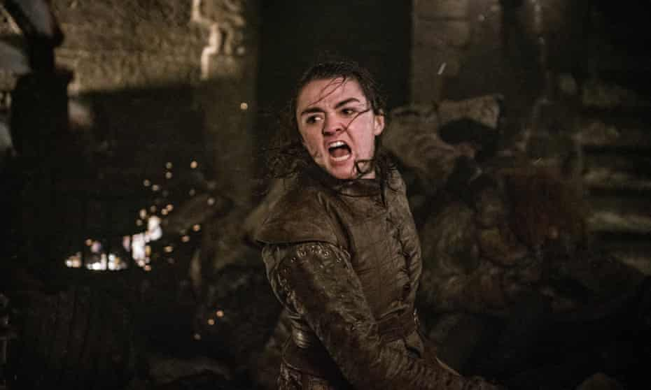 Maisie Williams in Game of Thrones, which will not get an eighth-season remake.