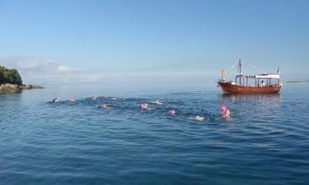 Sea Swimming, Turkey www.swimtrek.com