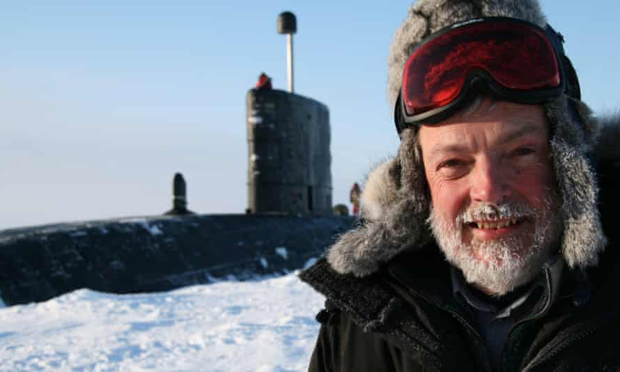 Peter Wadhams in the Arctic in 2007