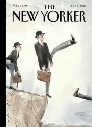 Cover of The New Yorker magazine issue 04/07/2016
