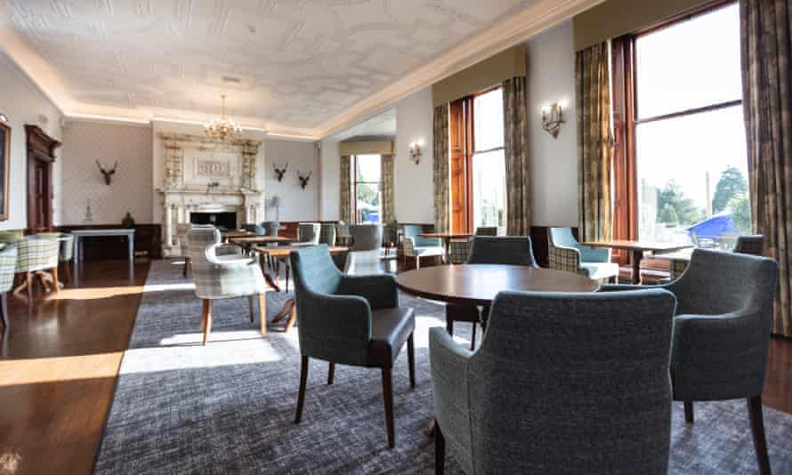 The brasserie at Nidd Hall Hotel