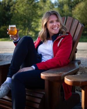 Katie Pix at Muskoka Brewery