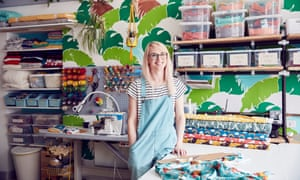Kaela Mills owner of Sprout Organic Childrenswear