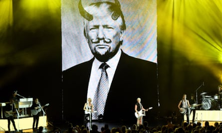 'The one thing the Dixie Chicks taught the industry is boy, you go against the prevailing political belief and you're off the radio': Dixie Chicks in Cincinnati, Ohio.