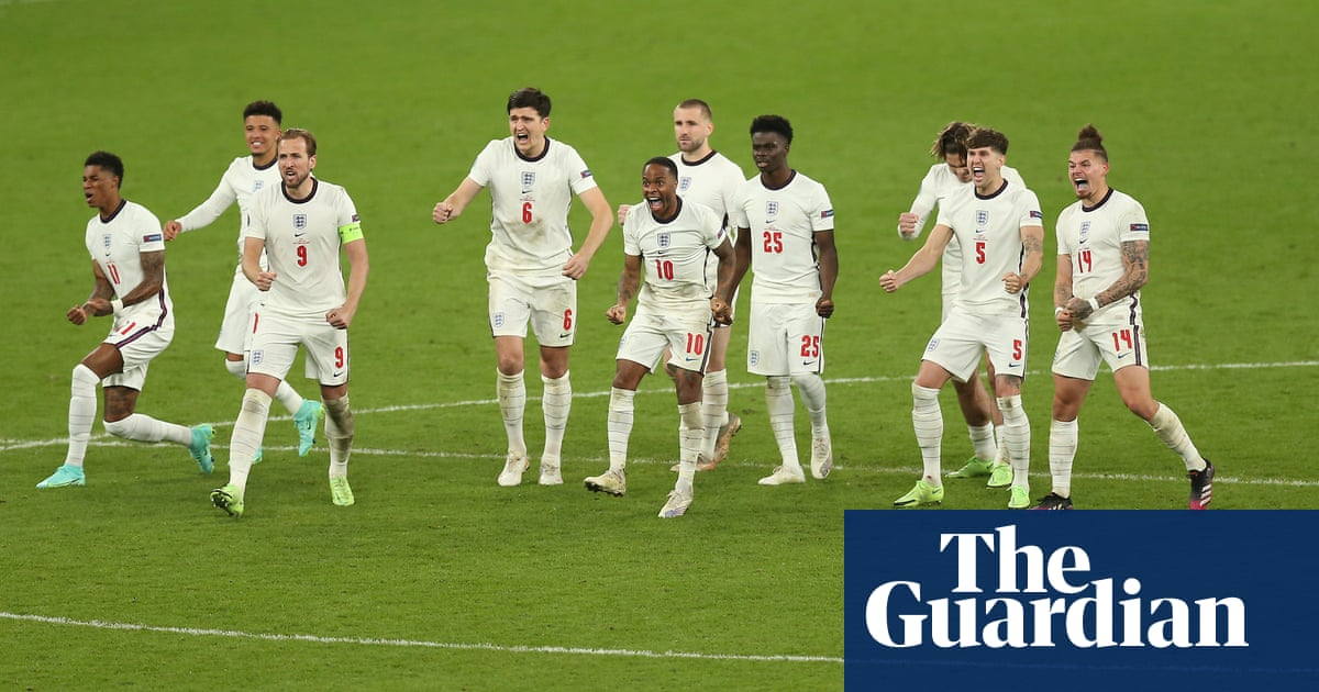 'I'm so incredibly proud of this team': readers celebrate the Three Lions squad