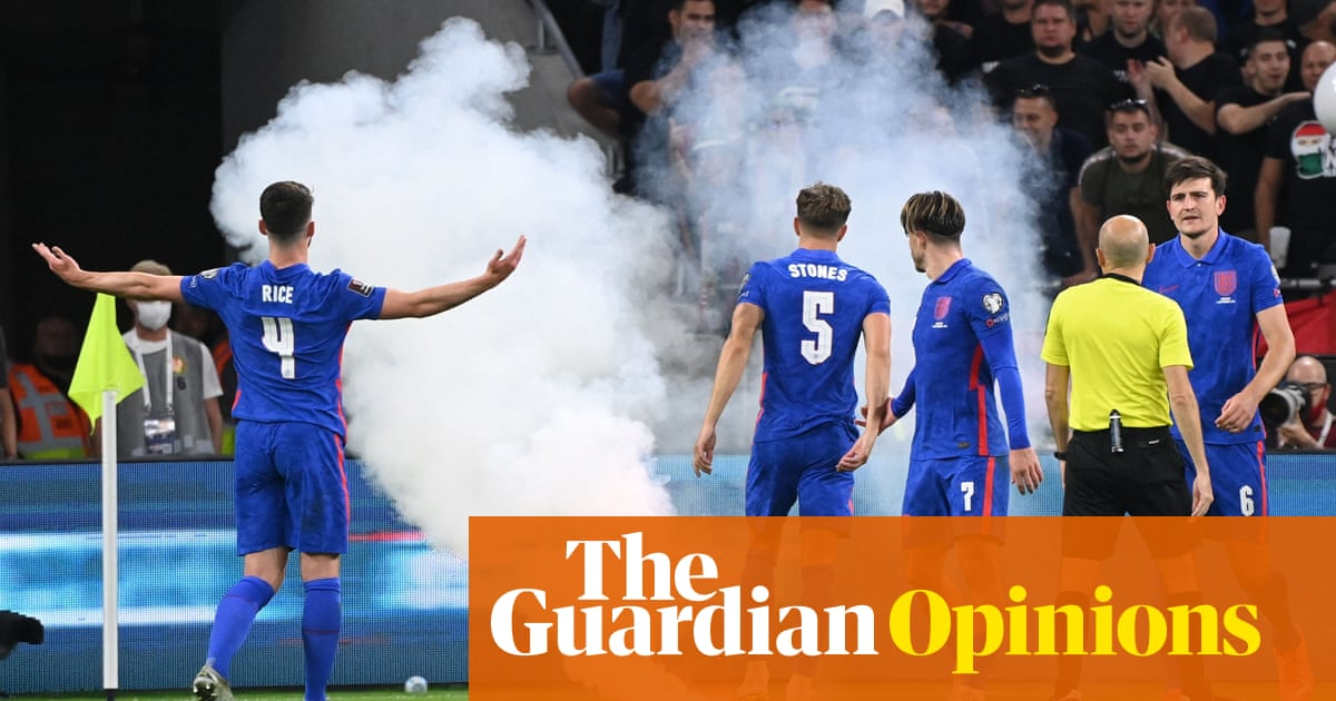 Racism and disorder during England's win in Hungary was completely preventable