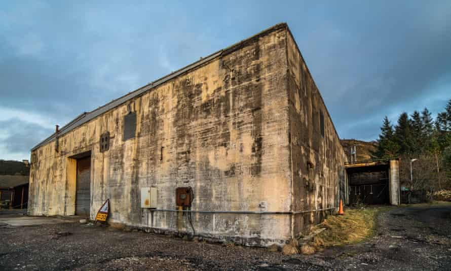 Dilapidated bunker