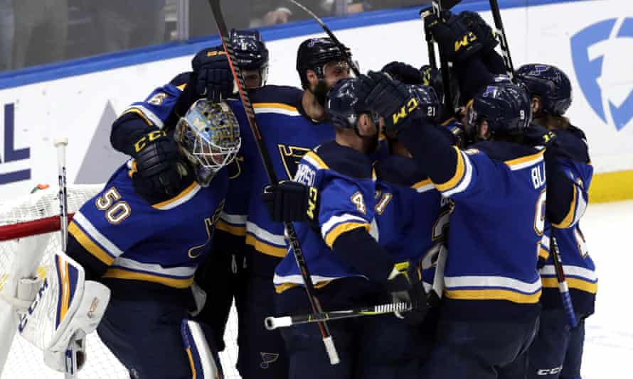 The Blues have put together a surprising run in this year's playoffs