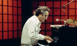Michel Legrand playing at the Royal Albert Hall, London, in the mid-1970s.