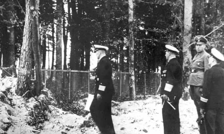 The damage is surveyed in Westerplatte
