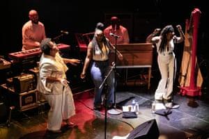 Brittany Howard and band at the Paradiso, Amsterdam.