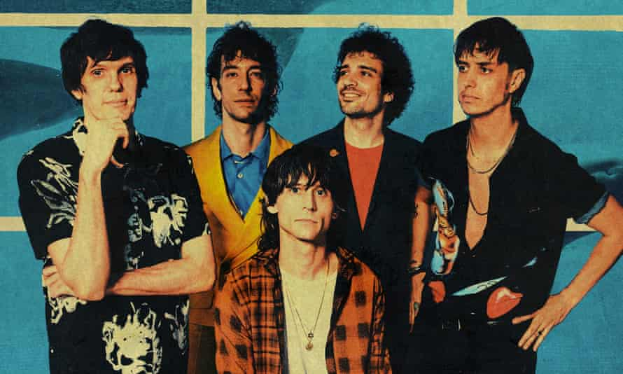 Gut-punch nostalgia … the Strokes.